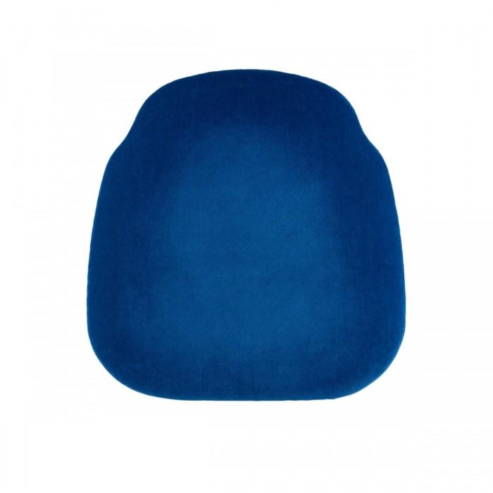 Assise velours (M1) bleue (pour chaises Napoléon III et Scala)