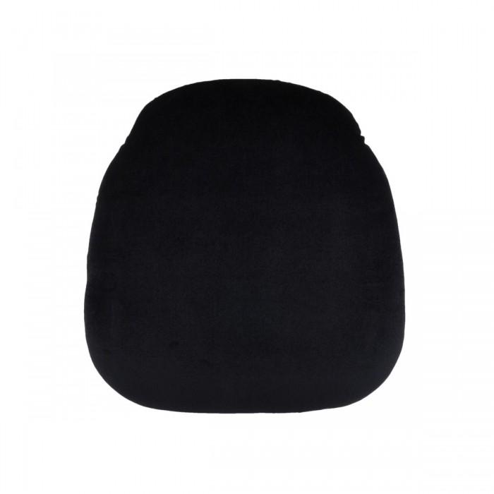 Assise velours (M1) noire (pour chaises Napoléon III et Scala)