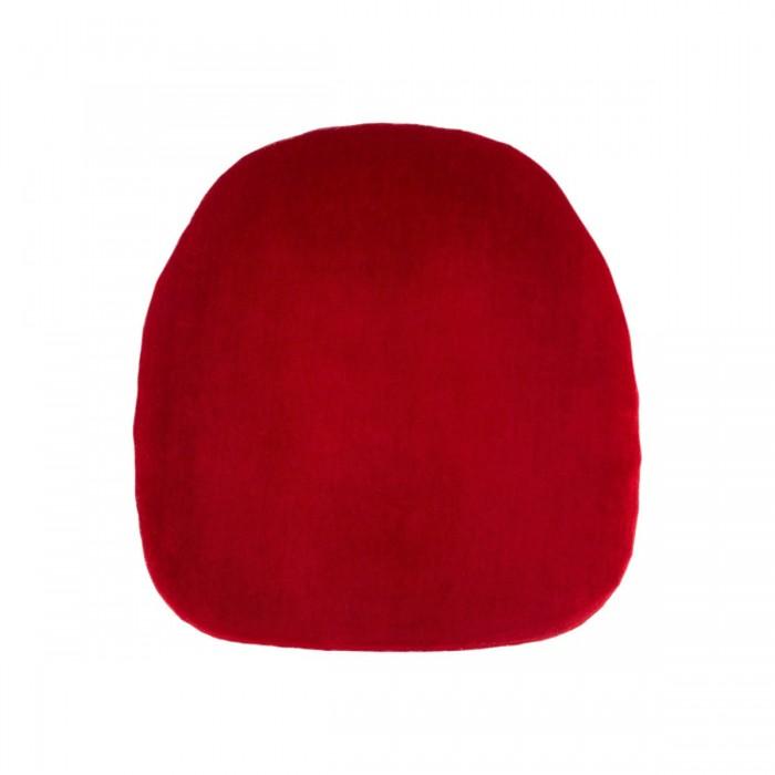 Assise velours (M1) rouge (pour chaises Napoléon III et Scala)