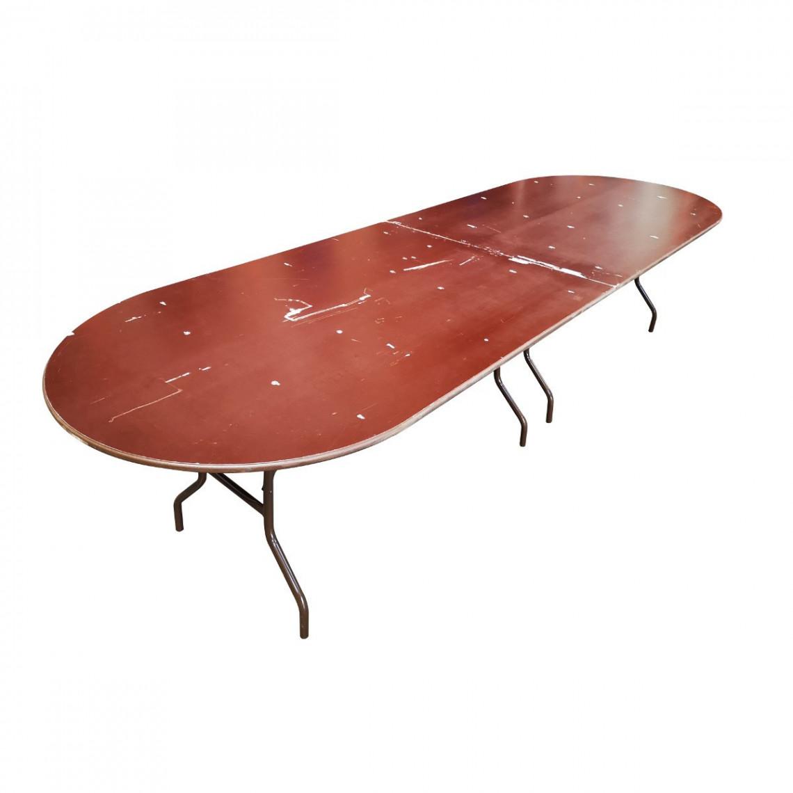 Table d'honneur ovale