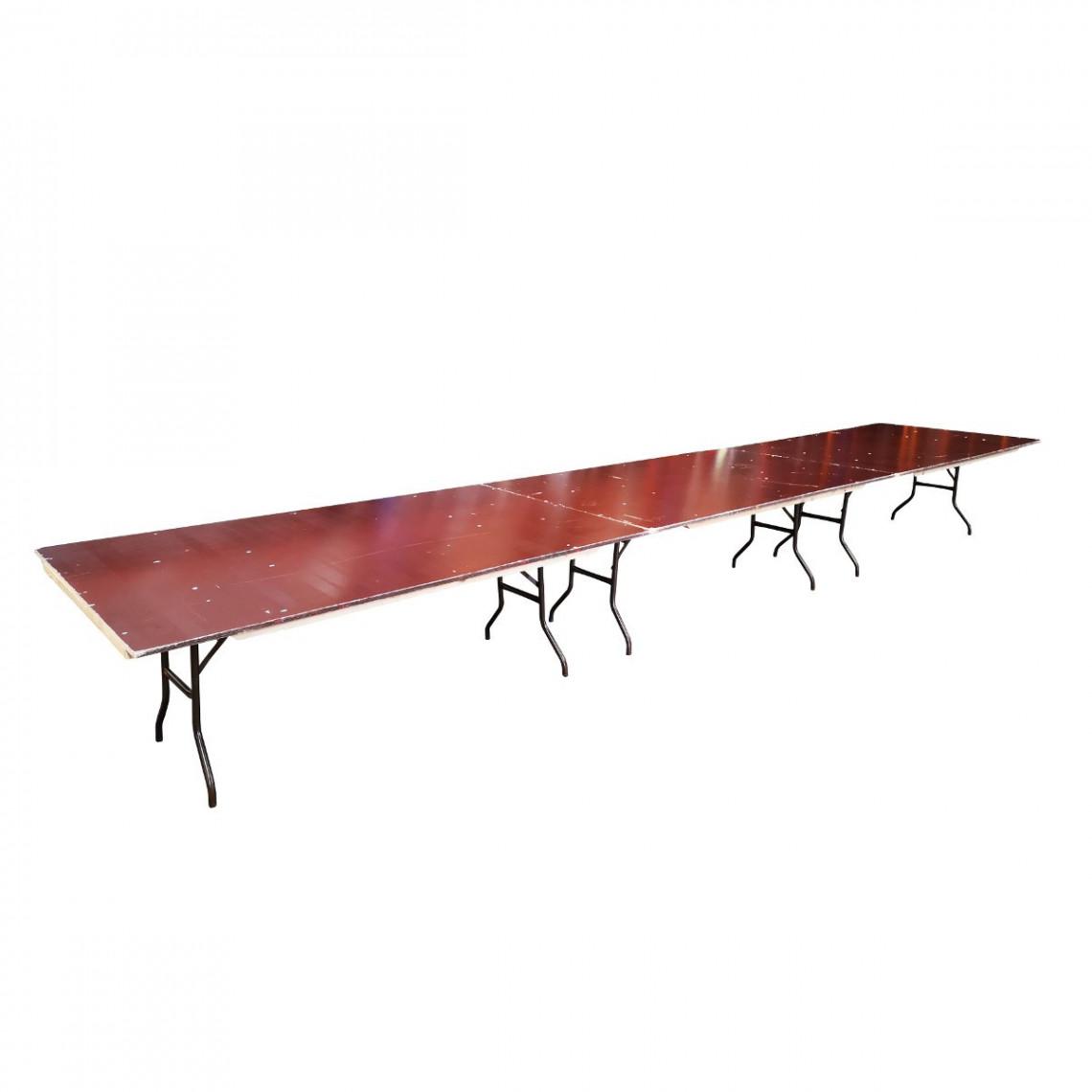 Table d'honneur rectangulaire