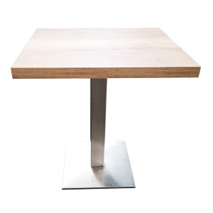 Table Jet Set plateau nature (70 x 60 cm)