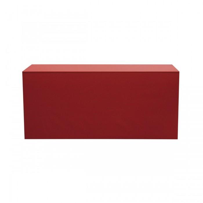 Buffet Universalis coton gratté rouge