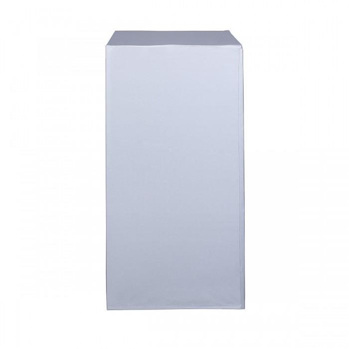 Housse Zoe (M1) blanche pour colonne Luxor (H 110)