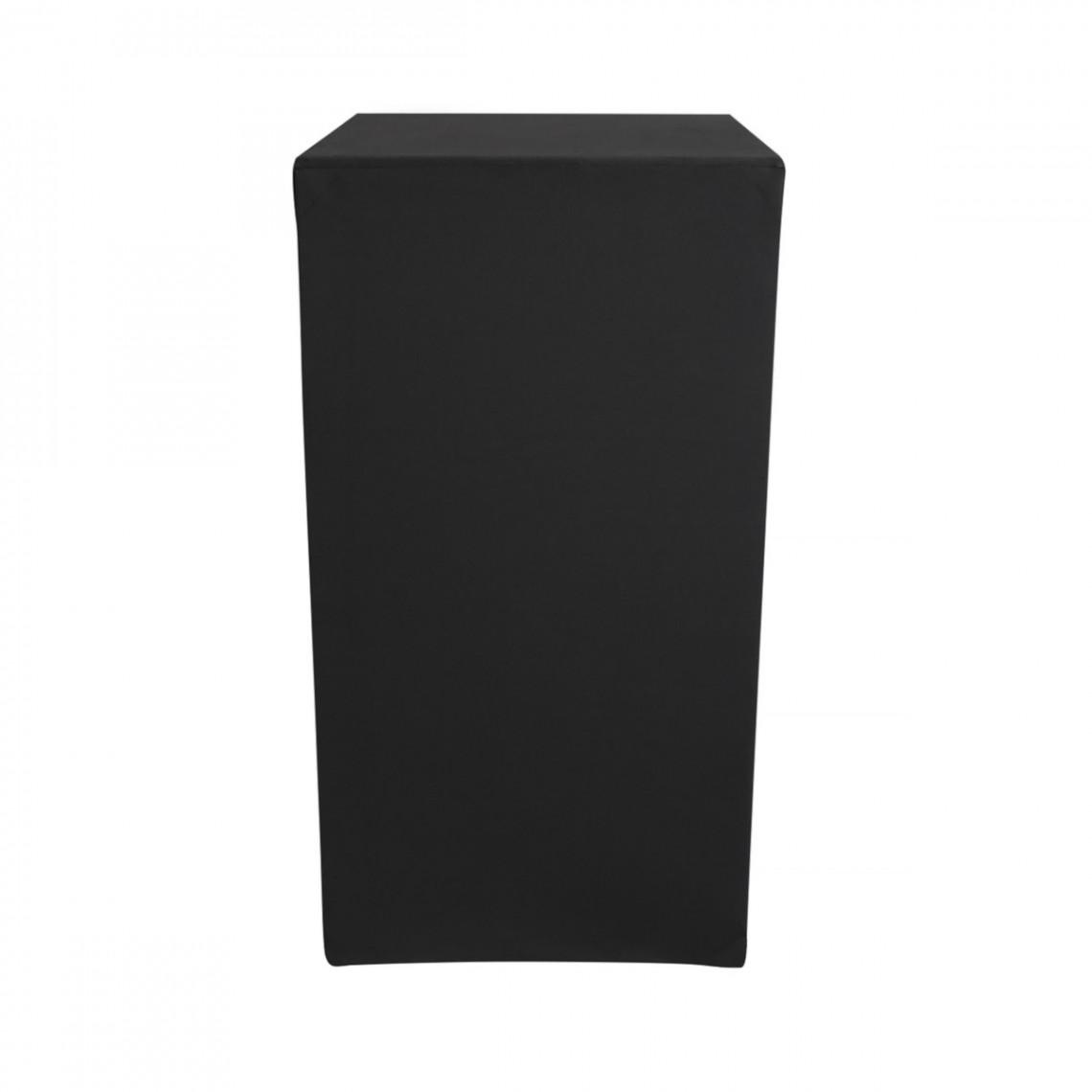 Housse Zoe (M1) noire pour colonne Luxor (H110)