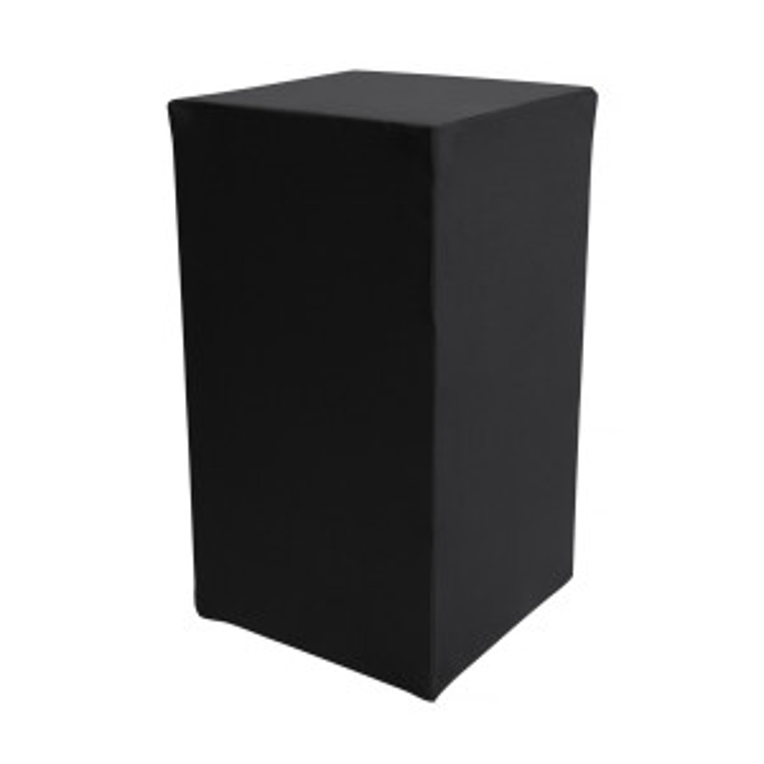 Housse Zoe (M1) noire pour colonne Luxor (H90)