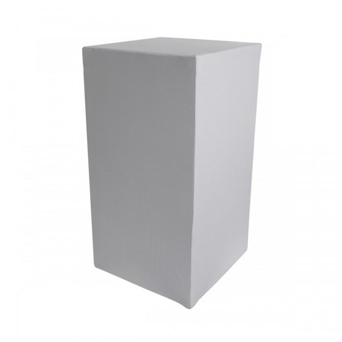 Housse Zoe (M1) grise pour colonne Luxor (H110)