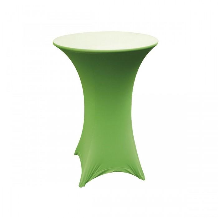 Chaussette pour mange-debout rond verte