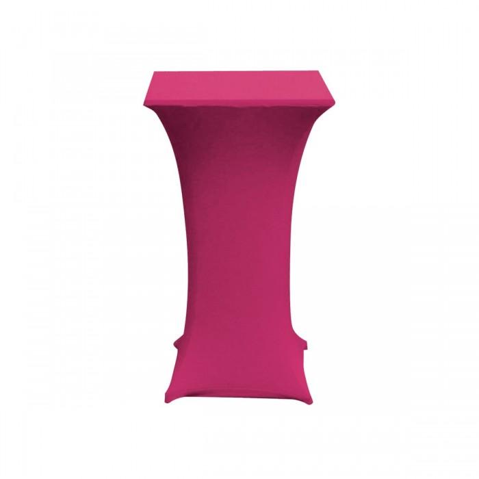 Chaussette pour mange-debout carré rose