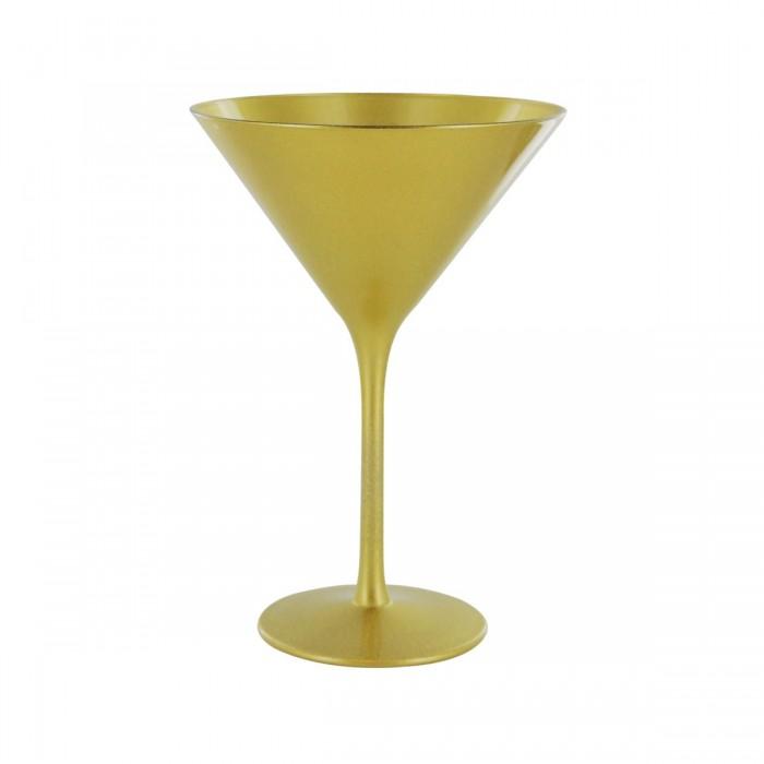 Verre à martini or