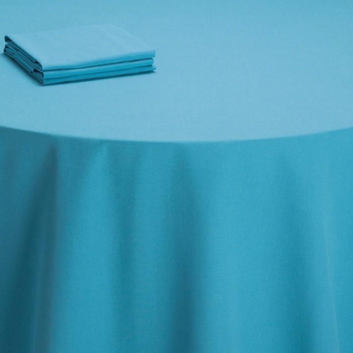 Chemin de table Rita turquoise