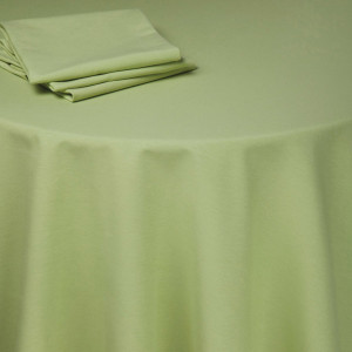 Chemin de table Rita vert anis