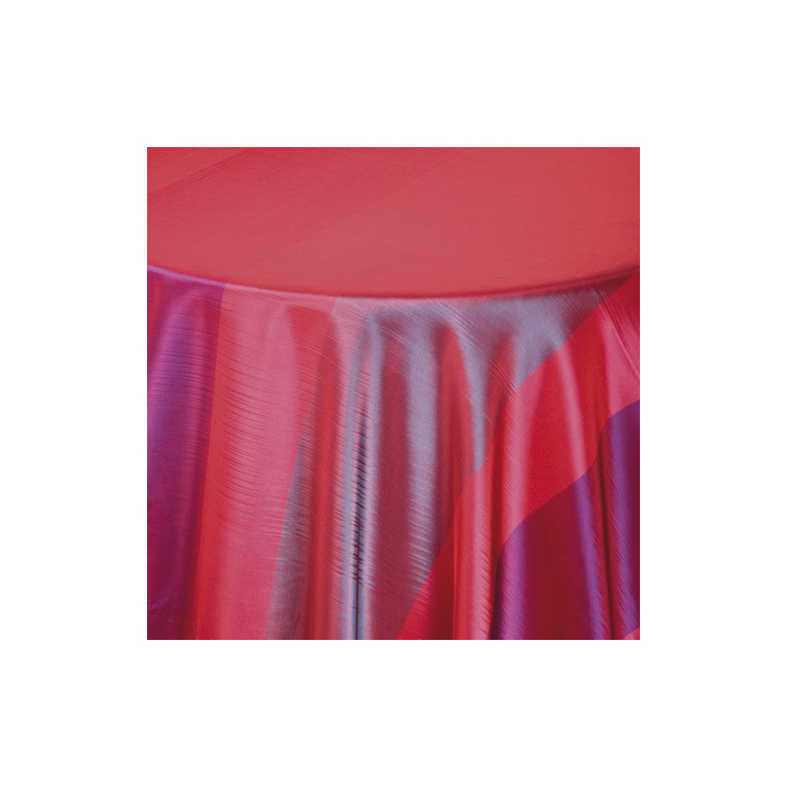 Chemin de table Symphonie rouge/violet (M1)