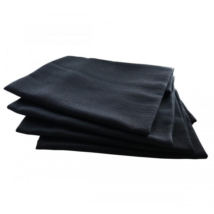 Serviette de table Sissi noire (M1)