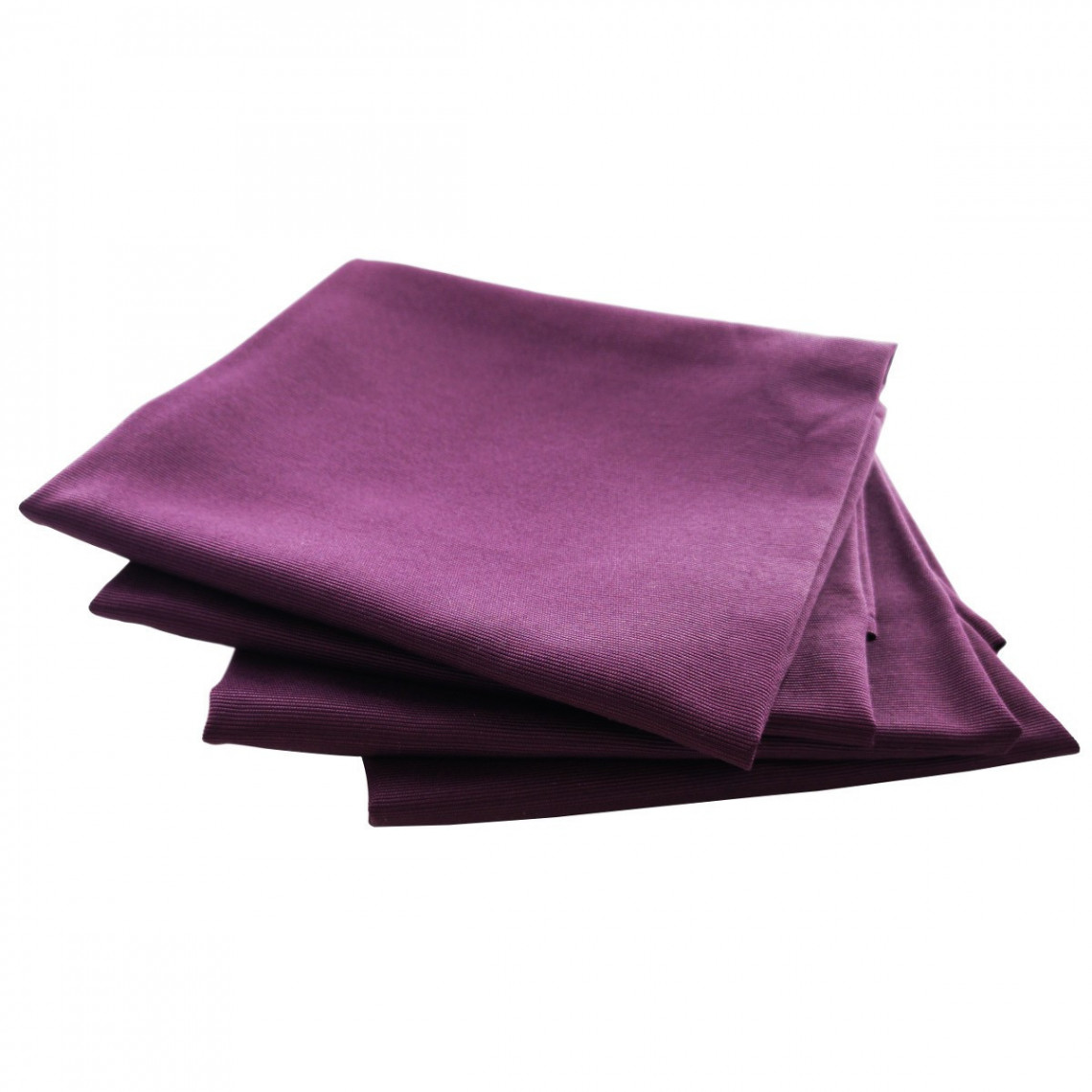 Serviette de table Monarque prune (M1)