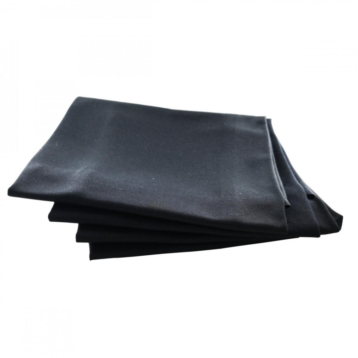 Serviette de table Monarque noir (M1)