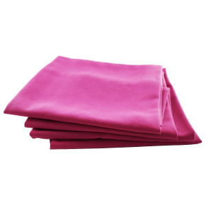 Serviette de table Rita fuchsia