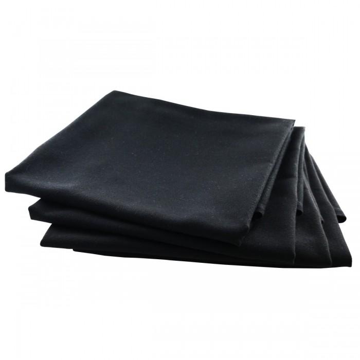 Serviette de table Rita noire