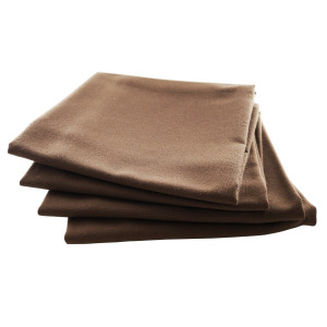 Serviette de table Rita chocolat