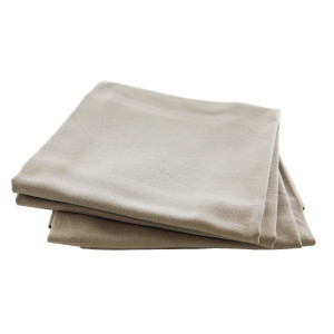Serviette de table Daisy taupe clair