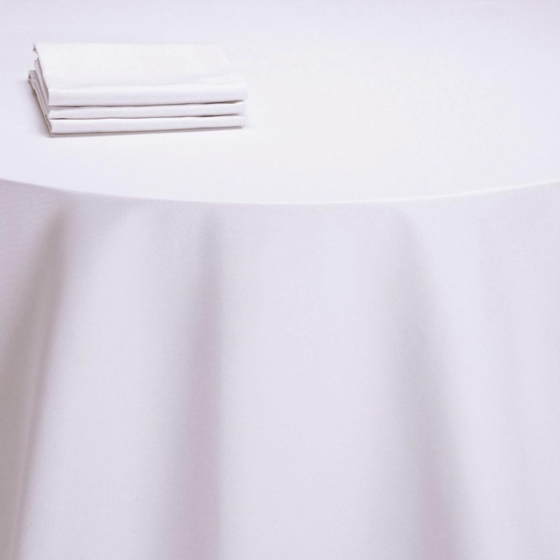 Nappe table Monarque blanche (M1)