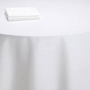 Nappe buffet Sissi blanche (M1)