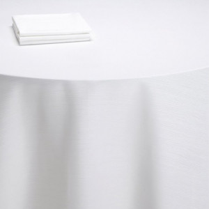Nappe table Sissi blanche (M1)