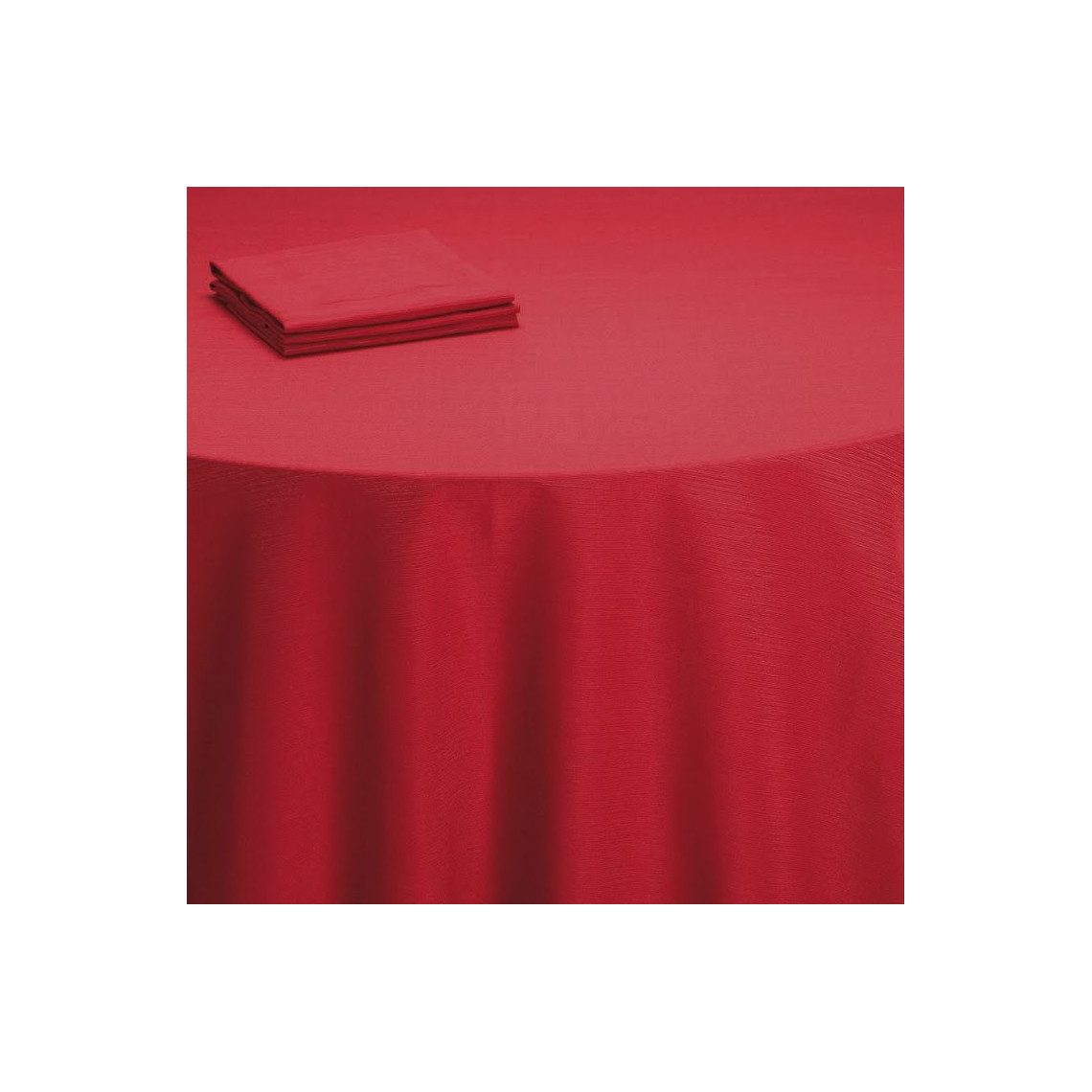 Nappe table Sissi rouge (M1)