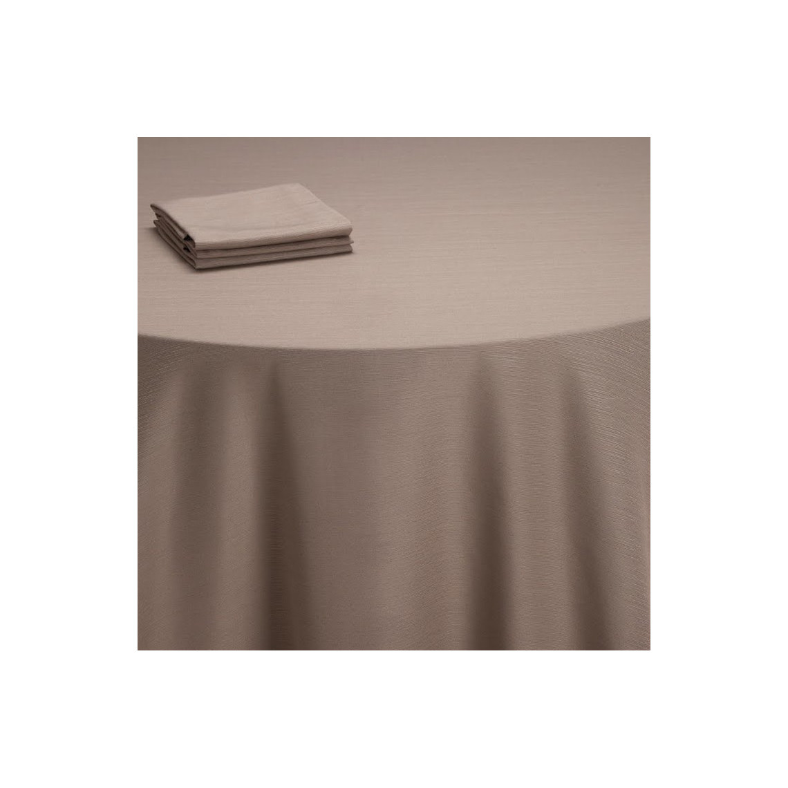 Nappe table Sissi taupe (M1)
