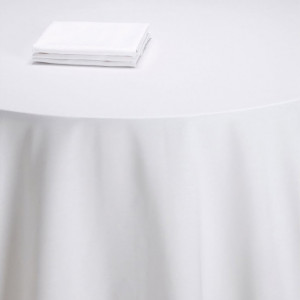 Nappe table Rita blanche