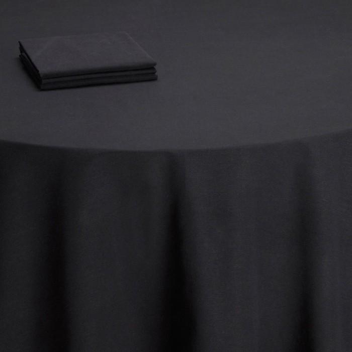Nappe table Rita noire