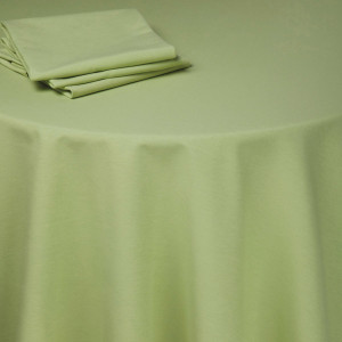 Nappe table Rita vert anis