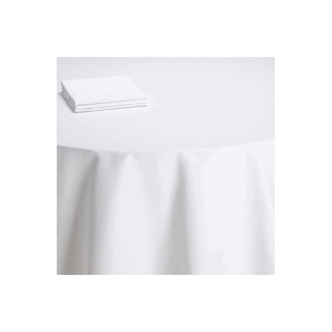 Nappe table Daisy blanche