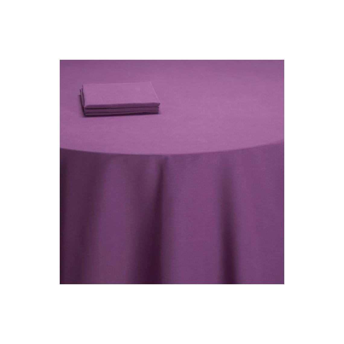 Nappe buffet Salsa violet