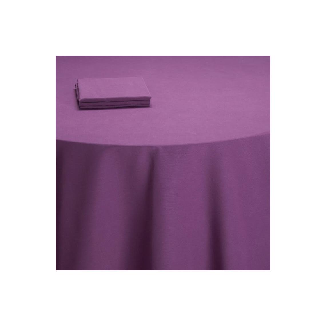 Nappe table Salsa violette