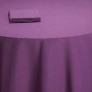 Nappe table Salsa violette