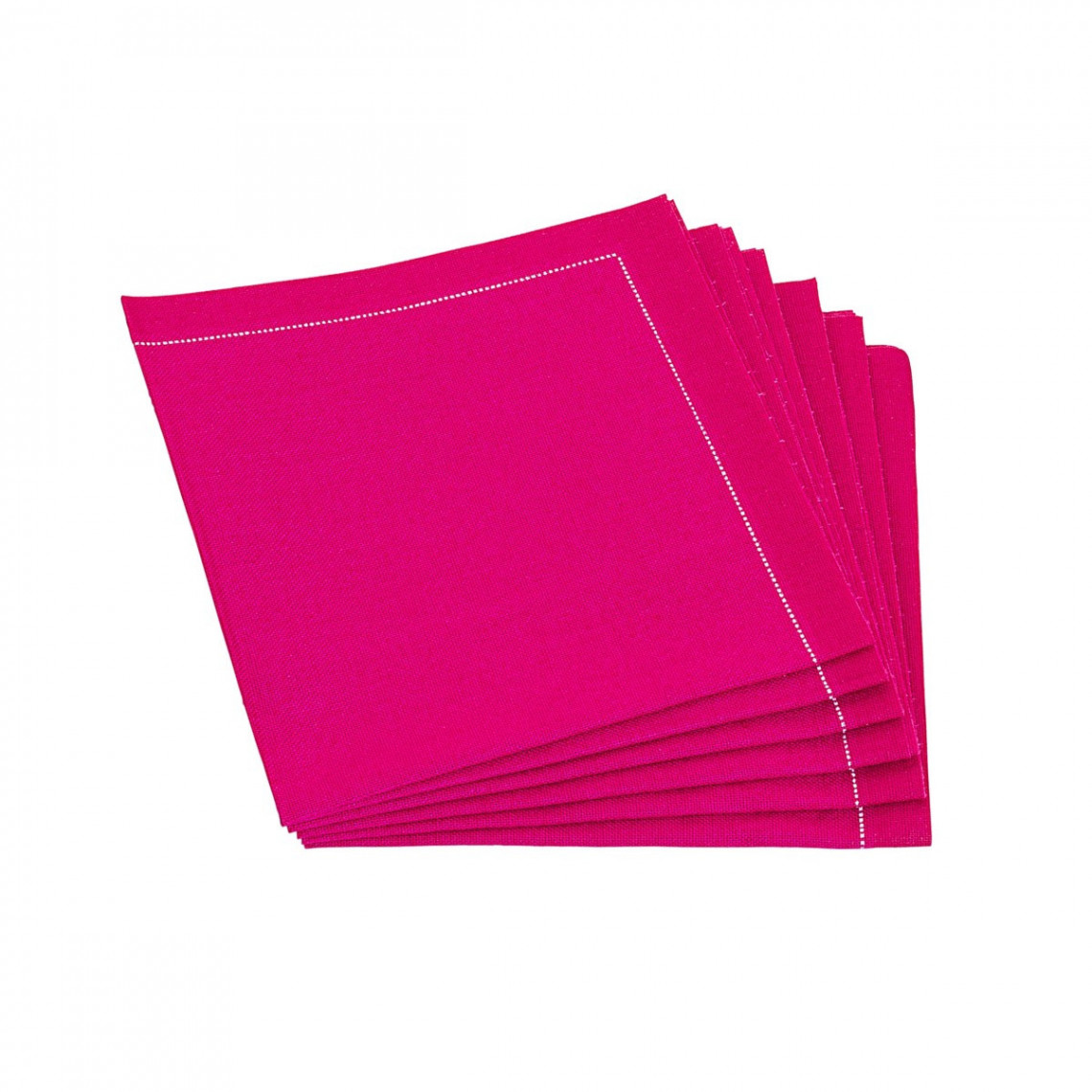 Serviettes tissu Quickstep fuchsia (x30)