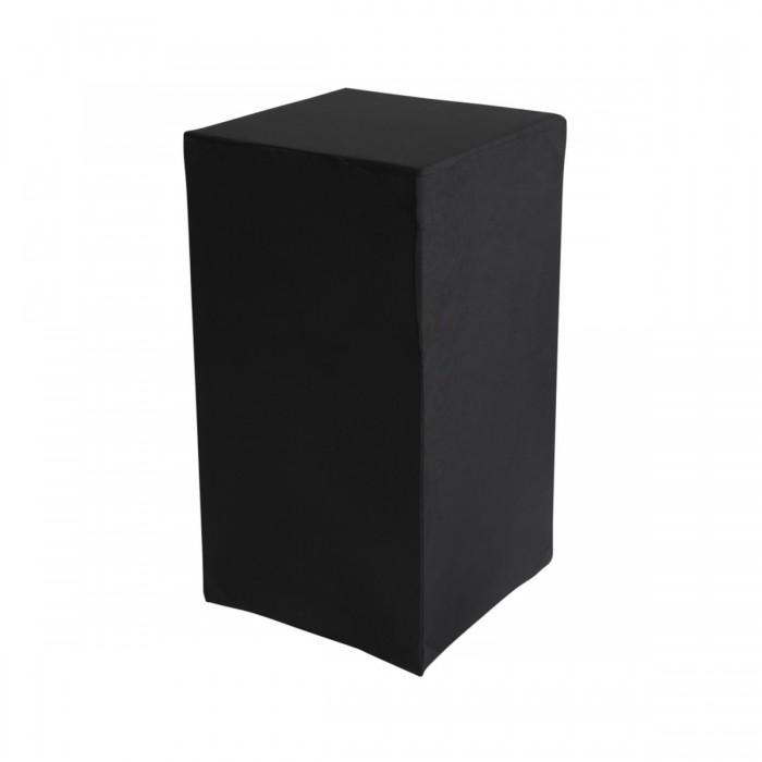 Housse Zoe (M1) noire pour colonne Luxor (H72)