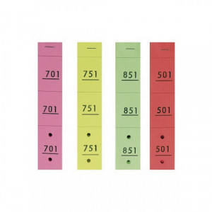 Carnet vestiaire (50 tickets)