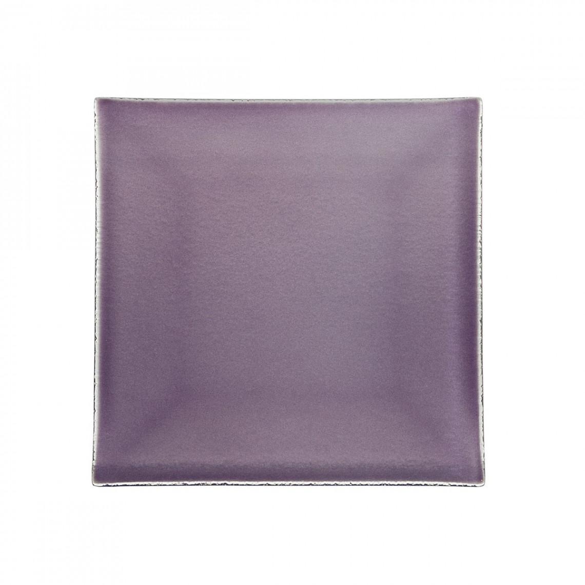 Assiette à pain Calypso violette