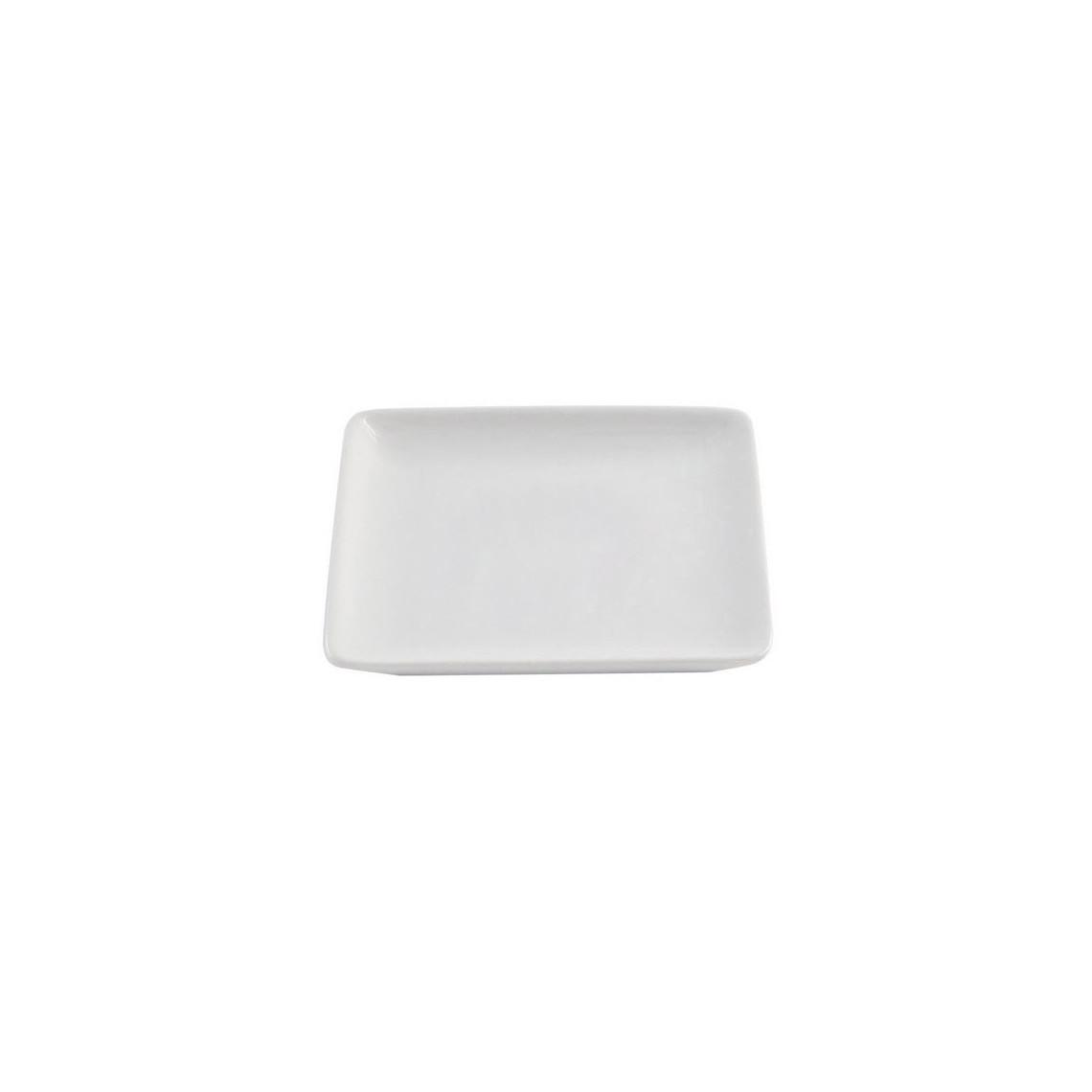 Assiette à pain Tokyo blanche (12 x 12 cm)
