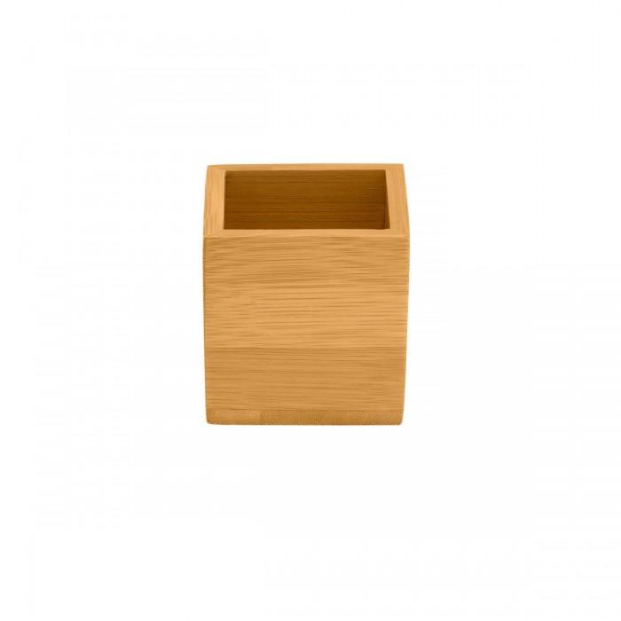 Boîte de couverts en bambou Nature
