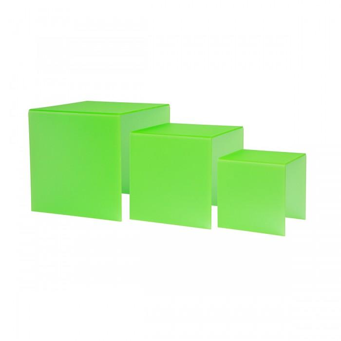Kit gigogne plexi Dita green (3 éléments)