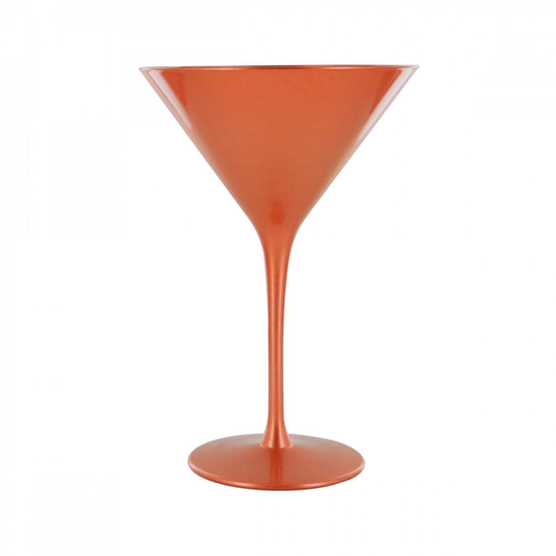 Verre à martini cuivre