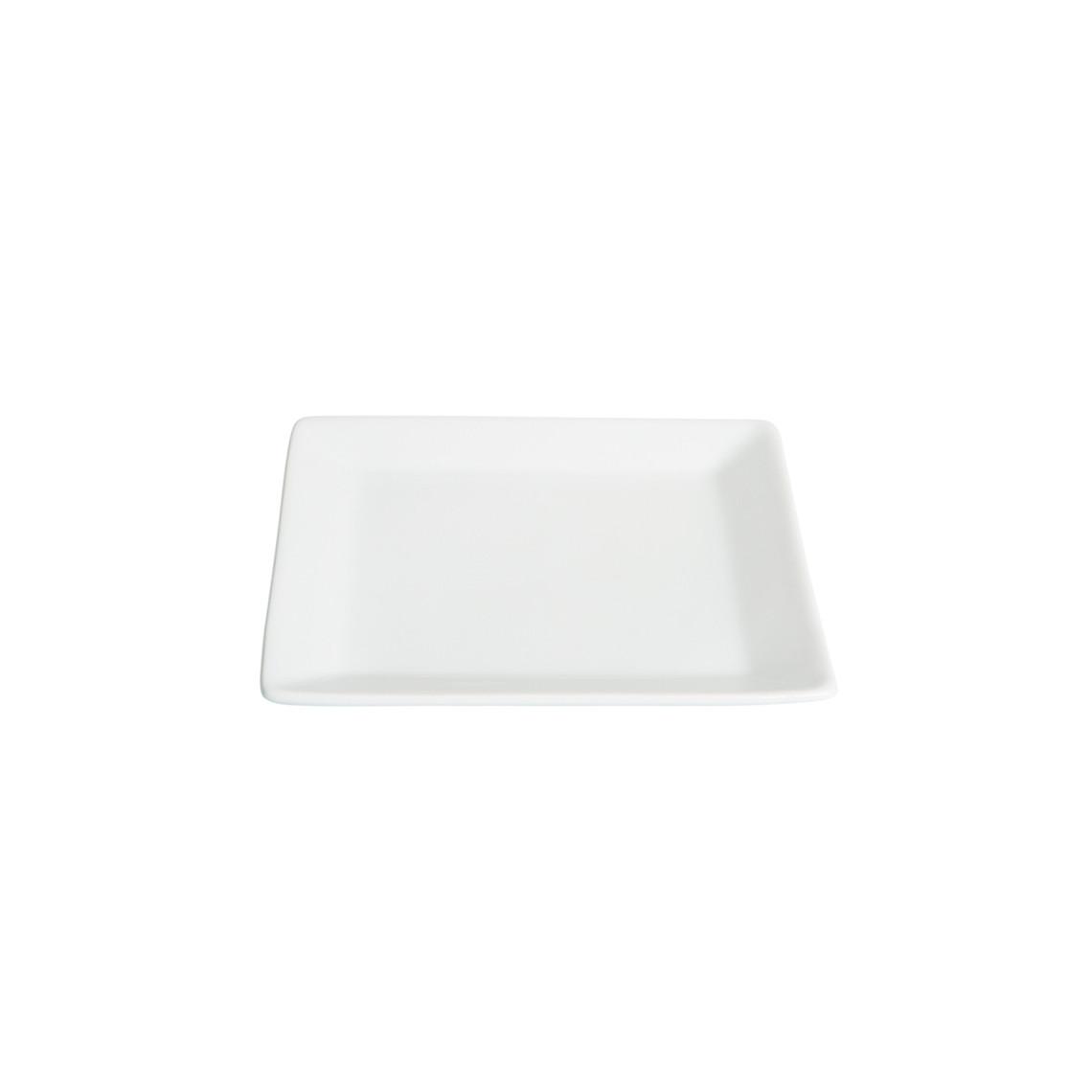 Assiette cocktail Tokyo blanche (15 x 15 cm)