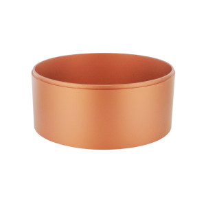 Réhausse aluminium emboîtable cuivre (H8.5)