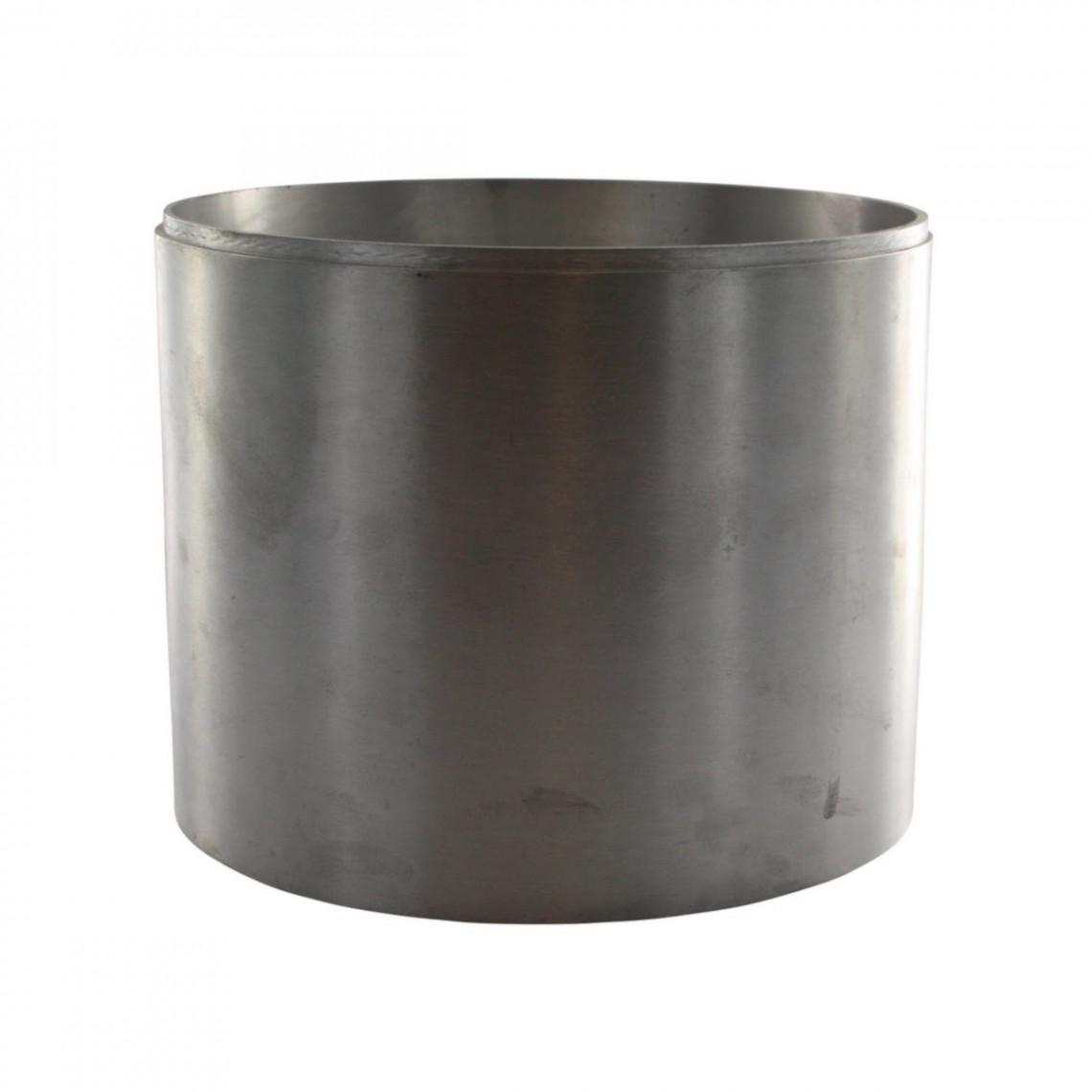 Réhausse aluminium brut emboîtable (H16)