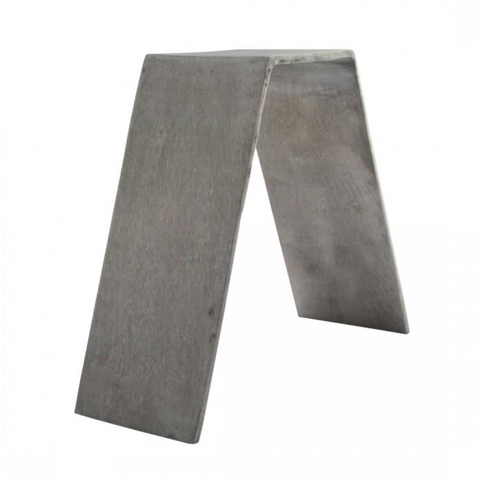 Réhausse V aluminium brut (H15)