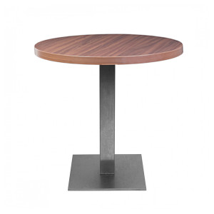 Table Jet Set grisée (Ø75 cm)