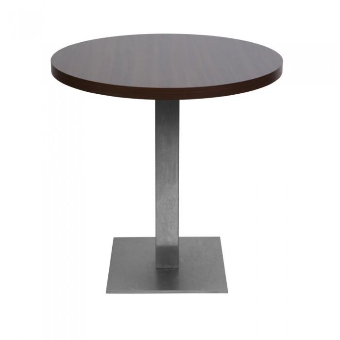 Table Jet Set wengé (Ø75 cm)